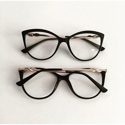Armação para óculos de grau - Linda 7042 - Preto