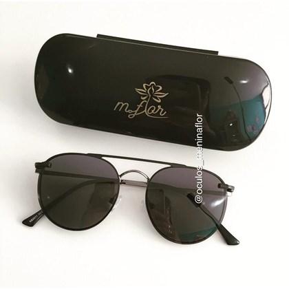Armação para óculos grau - Good Girl - Azul escuro com grafite