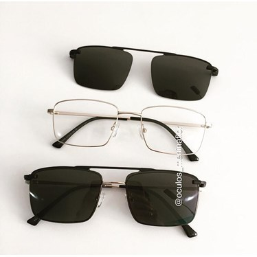 Armação para óculos grau - Lini 3049 - Dourado