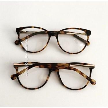 Armação para óculos grau - Sophia - Animal print