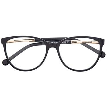 Armação para óculos grau - Sophia - Preto