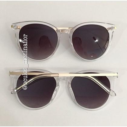 7202e773f8975 Óculos de sol - Anitta - Transparente lente preta ...