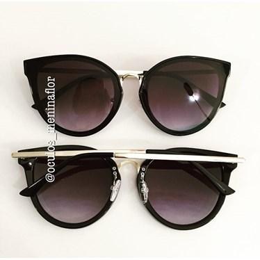 144a73292 Óculos de sol - Brooks - Preto degrade - Óculos Menina Flor
