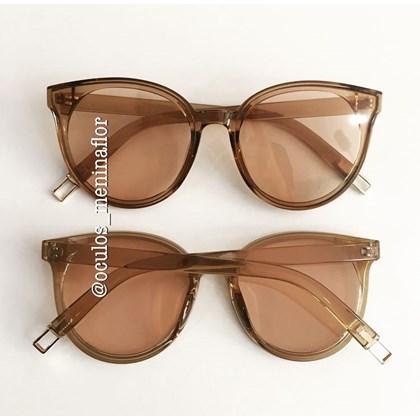 8d0348b87 Óculos de sol - Candy Mermaid - Marrom transparência ...