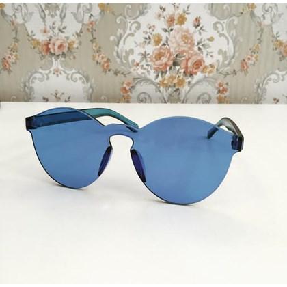 Óculos de sol - Caribe - Azul escuro transparência