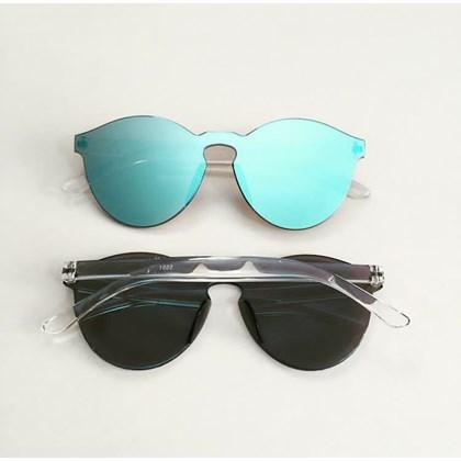 Óculos de sol - Caribe - Azul espelhado