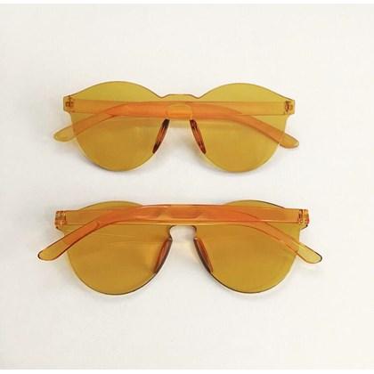 Óculos de sol - Caribe - Laranja transparência