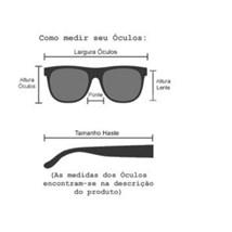 Óculos de Sol - Cuba  22024 - Preto lente G15 - C4