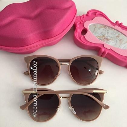 a313d55ca1696 Óculos de sol - Drica - Nude chocolate ...