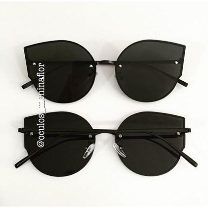 f5e3f6960 Óculos de sol - Egonia - Preto com dourado ...