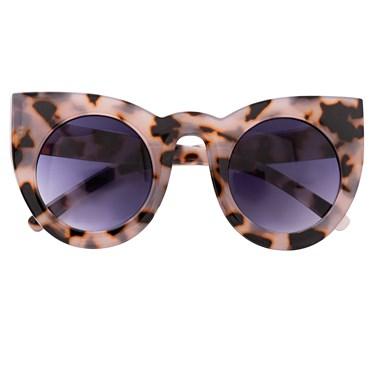 Óculos de sol - Flamingo - Animal print Claro