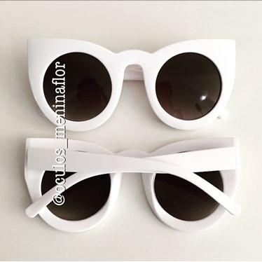 Óculos de sol - Flamingo - Branco