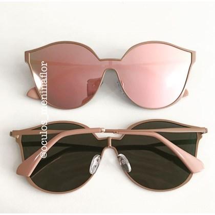 1094c8179 Óculos de sol - Fully - Rose espelhado ...