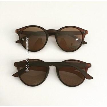 Óculos de Sol - Helen 7007 - Marrom