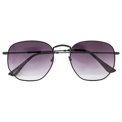 Óculos de Sol - Itália Hexagonal - Preto degrade