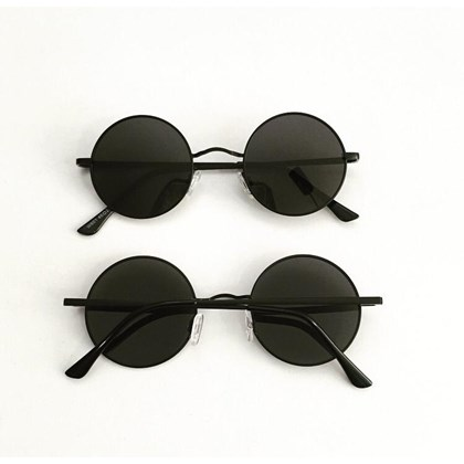 Óculos de sol - John redondinho - Preto