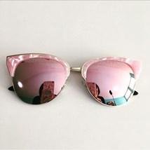 0eea3e452 Menina Flor. Produto Indisponível. Óculos de sol - Madri - Rose espelhado  ...