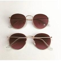 Óculos de sol - Round Clube - Rose degradê C5