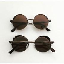 Óculos de sol - Round Rock Glow - Marrom Bronze