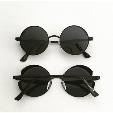 Óculos de sol - Round Rock Glow - preto