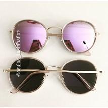 51b3754d0 Óculos de sol - Round Vittar - Lilas espelhado ...