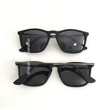 Óculos de Sol - Valentina 9038 - Preto lente preta