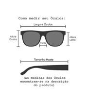 570436106 ... Óculos de sol - Anitta - Dourado transparente lente marrom