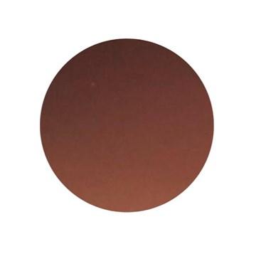 Par de lentes solar colorida com grau - Marrom